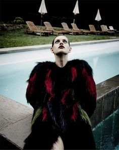 Roberto Cavalli for Harpers Bazaar Russia
