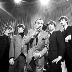 50 Years ago : Ed Sullivan with The Beatles - Feb. 9, 1964.
