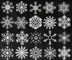 "Kreide Schneeflocken Clipart: ""Weihnachten ClipArt"" Schneeflocke Clip Art Clip Art gefrorene Schnee Schneeflocke Winter Cliparts digital Schneeflocke - List of the most creative DIY and Crafts Winter Cliparts, Free Cliparts, Clip Art, Ideas Scrapbook, Snowflakes Art, Frozen Snowflake, Diy Jewelry To Sell, Christmas Clipart, Chalkboard Art"