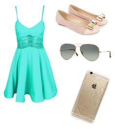 """""""Untitled #4"""" by giuliana-dametto on Polyvore featuring beauty, Monsoon, Rifle Paper Co and Ray-Ban"""