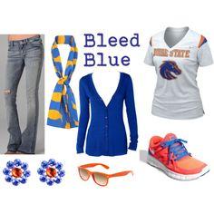 Bleed orange & blue! #BSU #BoiseState