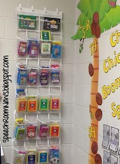 Organizing Fun Decks-simple, easy and perfect for the classroom/therapy room…