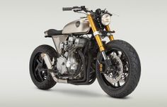The custom builder Classified Moto has completely reworked this 1991 Honda Nighthawk into a stunning cafe racer.