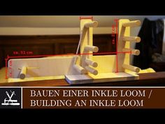Inkle Weaving - How to make heddles & warp the loom - YouTube