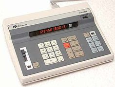 Rockwell electronic calculator. I had one of these in the early 1970's. It was pretty cool technology at the time.