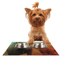 "Danny Ivan ""Abstract Rhino"" Dog Place Mat"
