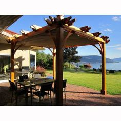 23 Great Pergola W Retractable Awning Images Decks