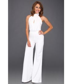Womens White Jumpsuit