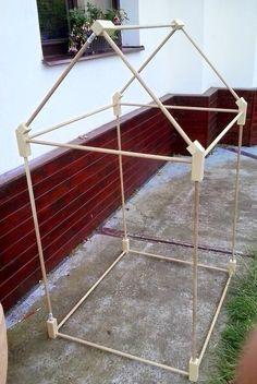 Domeček dřevěný no. 1 (konstrukce)