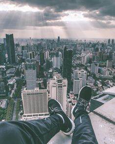 Stunning Rooftop Shots From Skyscrapers of Shanghai by Oliver Shou #inspiration #photography