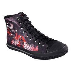 Men s Skechers Star Wars Legacy Vulc Galactic Ruler High Top  Red Star Wars  Shoes c6842fa26