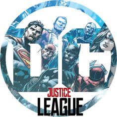 DC Logo for Justice League | Ver. 4 by piebytwo