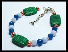 Healing Crystal Bracelet for Arthritis and Joint Pain by LunaCelesteAustralia, $24.00
