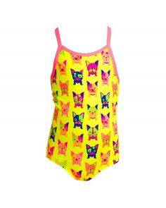 4480ec3c41e Toddler girl's Hot diggity One-piece Swimsuit
