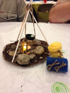 cub scouts Campfire centerpiece Cub Scout Blue and Gold Dinner Cub Scouts Wolf, Beaver Scouts, Tiger Scouts, Girl Scouts, Daisy Scouts, Cub Scout Crafts, Cub Scout Activities, Cub Scout Crossover Ceremony, Eagle Scout Ceremony