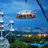 'Dinner in the Sky' Event, Brussels