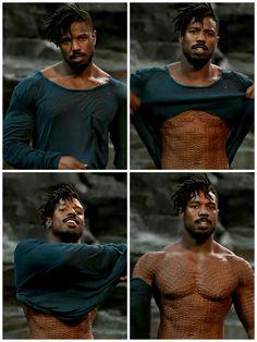 Michael B. Jordan Black Panther (2018) dir. Ryan Coogler