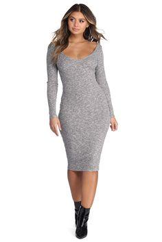 70e7a7f3a1e6da On Another Level Sweater Dress