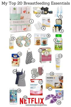 Need tips on what breastfeeding items that you should purchase? Check out this post for more info!