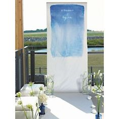 Aqueous Personalized Wedding Photo Booth Photo Backdrop