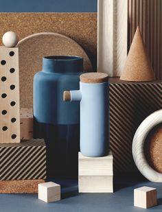 Doenja Oogjes, maakt keramische objecten, toegepaste kunst van bouwmarktatikelen