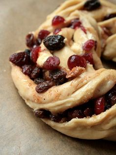 cherry berry and almond bread