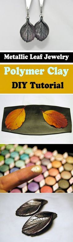 3 Extraordinary DIY Polymer Clay Jewelry Tutorial to define your own style..: