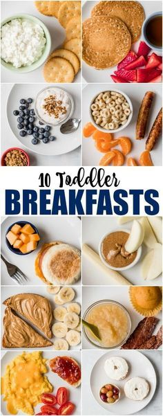 10 Toddler Breakfast Ideas to inspire your busy mornings! Mix and match these mo… 10 Toddler Breakfast Ideas to inspire your busy mornings! Mix and match these mostly healthy, always delicious kid favorites for a great start to any day. Healthy Toddler Meals, Toddler Lunches, Toddler Dinners, Healthy Kid Food, Healthy Meals Picky Eaters, Foods For Picky Toddlers, Healthy Toddler Food, Recipes For Picky Eaters, Toddler School