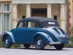 1936 Mercedes-Benz 170 H Cabriolet Saloon  #mbhess #mbclassic