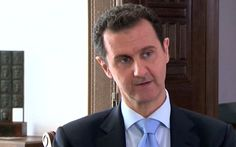 "Syrian president Bashar al-Assad has given a rare interview with Czech television where he accuses France, UK, US, and Saudi Arabia as supporting ISIS militants. When asked what it would take to end Syria's four-year civil war, Assad answered: ""When those countries that I mentioned --... #assad"
