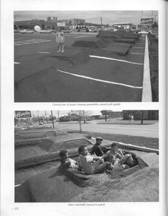 Parking lot installation since About a dozen cars were covered in asphalt. Environmental Design, Parking Lot, Art Pages, American Artists, Making Out, Landscape Design, Places To See, World, Photography