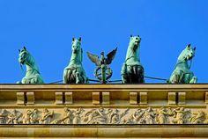 #berlin #brandenburg gate #chariot #city #draft animals #foursome strained #goal #historically #input #landmark #monument #quadriga #symbol