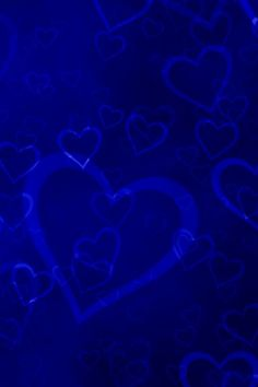 171 Best BLUE HEARTS 2 images in 2018 | Background images ... Blue Heart Wallpapers