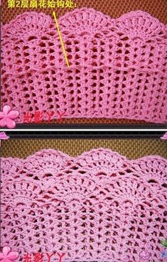 Crochet beautiful and delicate pink skirt for a girl. Free and simple patterns for crochet pink skirt for a little girl Skirt Pattern Free, Crochet Skirt Pattern, Crochet Skirts, Crochet Diagram, Crochet Lace, Crochet Stitches, Crochet Patterns, Sewing Patterns, Baby Clothes Patterns