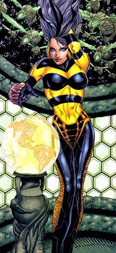 Queen Bee (Zazzala) __ Injustice Gang II