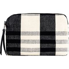 Mercado Global Women's Teresa Cotton Pouch ($25) ❤ liked on Polyvore featuring bags, handbags, clutches, multi, pouch handbags, zip pouch, pouch purse, zipper purse and zipper pouch