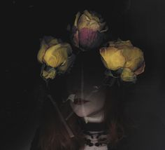 Monthly Makers Imprint by Jessica Andersdotter. Double exposure photography