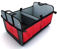 Trunk Cargo Organizer by Tidy Globe. Best for SUV, Vans, Cars, Trucks. Rear or backseat premium car storage container with LIFETIME WARRANTY. Tidy Globe http://www.amazon.com/dp/B00SUTHIVM/ref=cm_sw_r_pi_dp_EyiKwb1AE06C2
