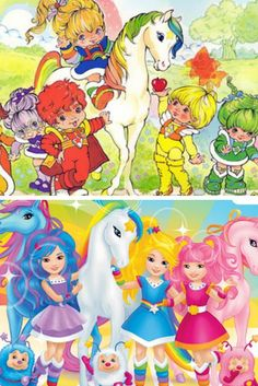 7 80s Characters From My Childhood Then And Now – What Happened?  2. Rainbow Brite Raids Nicki Minaj's Closet  #kids #toys #genx