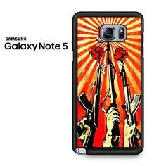 Shepard Fairey Guns And Roses Samsung Galaxy Note 5 Case