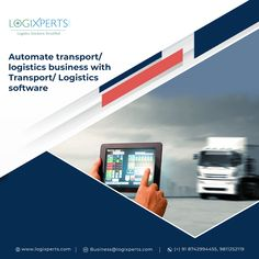 Automate transport/logistics using the Transport/Logistics management system (TMS). For more details contact us at @ Transport Logistics, Analytics Dashboard, Dashboards, Cloud Based, Transportation, Software, Management, Clouds, Business