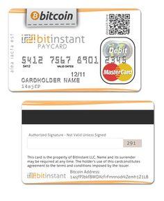 Bitcoin Debit card...COMING SOON!