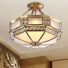 36 Lampe suspendue , Traditionnel/Classique / Rustique Laiton Fonctionnalité for LED MétalSalle de séjour / Chambre à coucher / Salle à de 4822537 2017 à €401.79