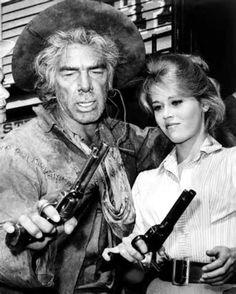 Cat Ballou ~ Lee Marvin + Jane Fonda
