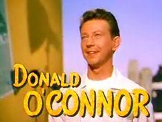 "Donald O'Connor  ""Francis the Talking Mule"" (1950), ""Singin' in the Rain"" (1952)"