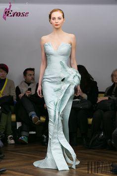 mint dress long Efl-170 elegante Minze blau meerjungfrau geliebte feder boden length arabische abendkleid