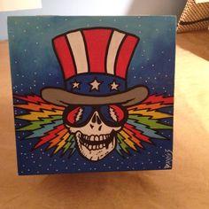 Grateful Dead Top Hat Logo