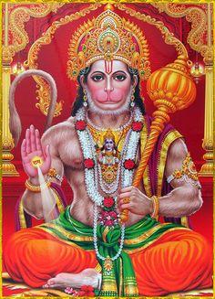 Hanuman is a devotee of lord ram. Hanuman Jayanthi, Hanuman Pics, Hanuman Images, Lord Krishna Images, Jai Hanuman Photos, Hanuman Murti, Durga, Ganesha, Ganesh Lord