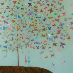 Butterfly tree by Emma Brownjohn