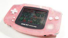 Fuchsia Nintendo Gameboy Advance Nintendo Ds Lite, Nintendo 3ds, Kawaii Games, Nanami Chiaki, Custom Consoles, Gakuen Babysitters, Cute Games, Video Game Console, Wallpaper